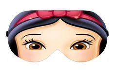 Snow White Disney Princess Sleep Sleeping Eye Mask Masks Blindfold Travel Kit Shade Shades cover Slumber Slumbers Blindfolds Present Gift by venderstore on Etsy