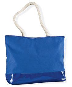 Una tote bag con las asas de cuerda son ideales para la playa y días relax. #PurseAddict