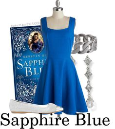 """Sapphire Blue by Kerstin Gier Find it here """"Eternity hangs from this moment."""""""
