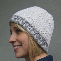 Would be a wonderful new hat for fall made in Dale Garn Falk or heilo