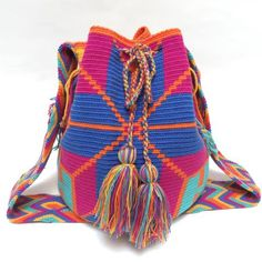"""""""Bali"""" Hand Woven Mochila Bag"""