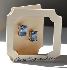 Frame earring card