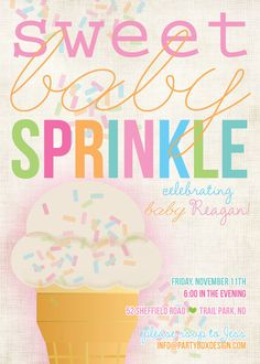 Baby sprinkle
