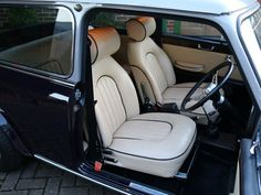 Radford Mini Cooper 1275 S - thecoolcars. Mini Cooper Classic, Classic Mini, Classic Cars, Mini Cooper Interior, Mini Morris, 3d Design Software, Mini Lifestyle, Car Upholstery, Collector Cars For Sale