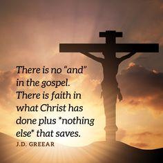 Salvation Quotes, Love Joy Peace, God Will Provide, Reformed Theology, Faith Hope Love, Great Words, Christian Faith, Faith Quotes, Quotations