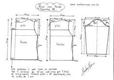 moldes de blusinhas de renda com instruções