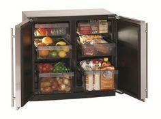"""U-Line Modular 3000 Series 36"""" Solid Door Refrigerator from U-Line"""