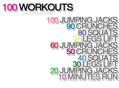 I'm going to do this (sans the run) while watching the boys since I don't have time for a gym membership!