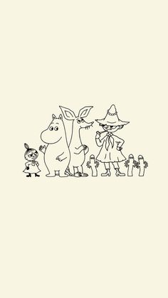 Moomin Wallpaper, Iphone Wallpaper, Cute Backgrounds, Cute Wallpapers, Troll, Little My Moomin, Moomin Valley, Tove Jansson, Journal Stickers
