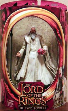 Action Figure Boxes - Lord of the Rings - The Two Towers: Saruman