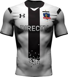 173756a86 The new Under Armour Colo-Colo 2015 Home Kit features a controversial kit  design. The traditional white Colo-Colo 2015 Jersey shows an eye-catching  black ...