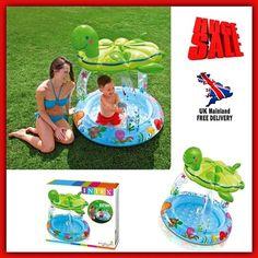 Summer Baby Pool Float Kids Inflatable Garden Outdoor Water Play Fun Sunshade