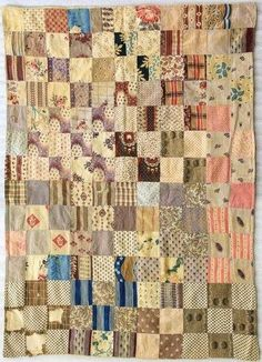 Antique quilt, X Mary Gromley collection Old Quilts, Antique Quilts, Scrappy Quilts, Small Quilts, Mini Quilts, Vintage Quilts, Crib Quilts, Baby Quilts, Make Do