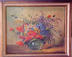 CMINSK  Detalhes : Oleo s Tela Original 1950, Raridade ! Quadro adiquirido em Galeria da 9 de Julho - Jardins em 1950