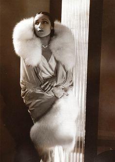Dolores Del Rio by Edward Steichen