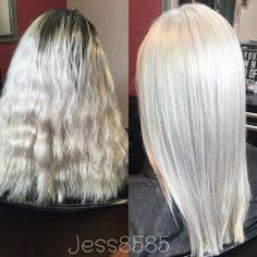 Platinum blonde! @jess8585 on instagram