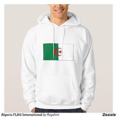 Algeria FLAG International Hoody