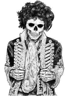 Rock N Roll | IdeaFixa | ilustração, design, fotografia, artes visuais, inspiração, expressão