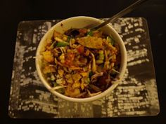 Mexican Bhel (Mexican inspiration with an Indian twist)