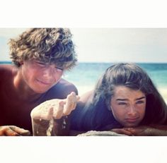 The Blue Lagoon. Brooke Shields and Christopher Atkins