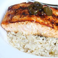 Delicious and easy recipe for Sweet Jalapeño Salmon using fresh Jalapeño peppers and honey.