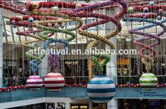 Новый дизайн 2015 висит торговый центр рождественские украшения