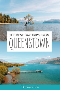 The best day trips from Queenstown, New Zealand: Glenorchy, Cromwell, Wanaka, Gibbston Valley and Arrowtown Brisbane, Melbourne, Sydney, New Zealand Lakes, New Zealand Travel, Mexico Travel, Glenorchy New Zealand, Queenstown New Zealand, Lake Wakatipu
