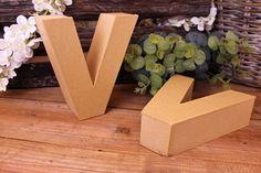 """Γράμμα """"V"""" Papier Mache  Γράμμα """"V"""" papier mache.Xρησιμοποιήστε τα ως έχουν, ή διακοσμήστε τα με όποια τεχνική θέλετε. Κολλήστε Washi Tapes, διακοσμήστε με σφραγίδες ή ζωγραφίστε τα, συνδυάστε μικρά ξύλινα ή μεταλλικά διακοσμητικά στοιχεία, κορδέλες, κορδόνια και ότι άλλο μπορείτε να φανταστείτε. Ιδανικά και ως βάση για Ντεκουπάζ. Washi, Bookends, Home Decor, Decoration Home, Room Decor, Book Holders, Interior Decorating"""