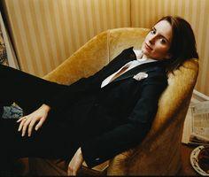Tina Fey  http://i-dream-of-dapper.tumblr.com/