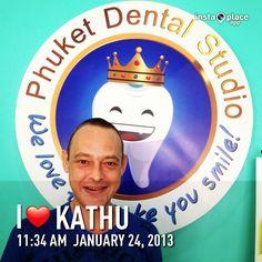 Patient from France @ Phuket dental studio