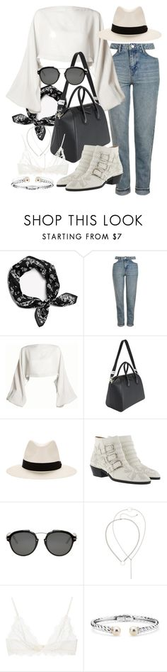 """""""Untitled #21292"""" by florencia95 ❤ liked on Polyvore featuring rag & bone, Topshop, DAMIR DOMA, Givenchy, Chloé, Christian Dior, Anine Bing and Blue Nile"""