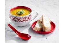 Davis & Waddell Marrakesh Soup Mug Set Red