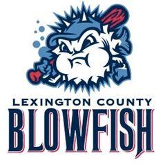 Lexington County Blowfish (Lexington, SC) Lexington County Baseball Stadium Div: West #LexingtonCountyBlowfish #LexingtonSC #CPL (L9010)