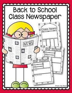 FREE Back to School Newspaper
