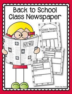 FREE Back to School Newspaper