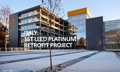 Sustainable building retrofit awarded LEED Platinum in Italy