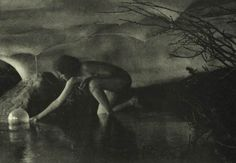 Anne Brigman, The Bubble, 1907