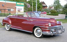 1947 Chrysler Windsor convertible