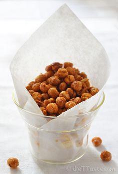 Roasted Chickpea Snack - diettaste.com