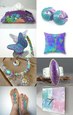 Touch of Purple by Ayala Binor on Etsy--Pinned with TreasuryPin.com