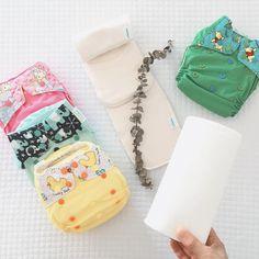 Quieres hacer la transición a los pañales ecológicos reutilizables para tu bebé? El kit completo para que funcione a la perfección, es el pañal, el absorbente de bambú y el paño de bambú. Kit, Cloth Diapers