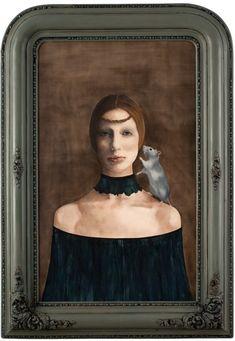 "Barbara Hangan:""Picture Me Upon Your Knees"" Contemporary Art Amazing Paintings, Amazing Art, Botanical Art, Animal Paintings, Figurative Art, Contemporary Artists, Lovers Art, Vintage Art, Design Art"