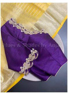 Cutwork Blouse Designs, Best Blouse Designs, Pattu Saree Blouse Designs, Simple Blouse Designs, Stylish Blouse Design, Blouse Neck Designs, Blouse Patterns, Hand Work Blouse Design, Maggam Works