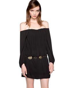 Off The Shoulder Boho Dress $72.00