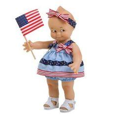 Kewpie Dolls | Kewpie Doll ~ All American Kewpie Doll---have her