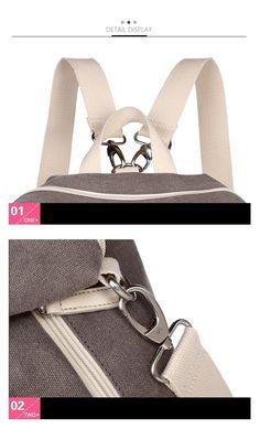 T29-3_10 Book Girl, Travel Backpack, Korean Fashion, Backpacks, Shoulder Bag, Handbags, Women, Style, Canvas Backpacks
