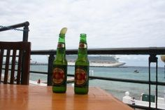 Cozumel Cruise tip: Great view at Toro's Place and Affordable drinks
