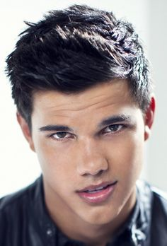 Taylor Lautner, he is a cutie, even if he has a stupid Justin Bieber pout going on most of the time.