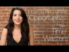 Press play to learn how to recognize great opportunities vs. time wasters. Come on over to www.marieforleo.com for a business & life you love!