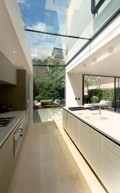 Dream House Interior, Dream Home Design, Modern House Design, Home Interior Design, Interior Architecture, Interior Colors, Interior Paint, Modern Glass House, Mansion Interior